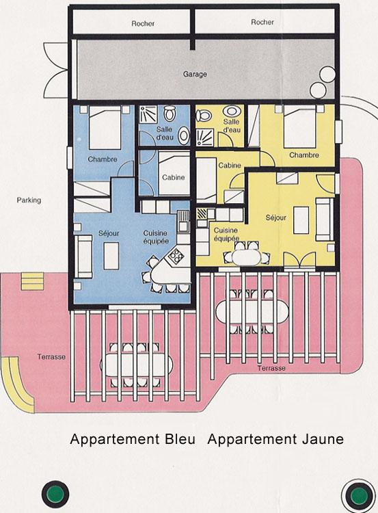 Plan de la Villa U Pozzu
