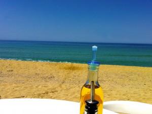 La plage d'Algajola